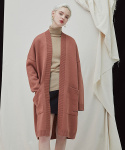 밀로그램() Filer Long Cardigan - pink