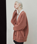 밀로그램() Trunk Heavy Cardigan - pink