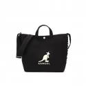 캉골(KANGOL) Canvas Tote Bag Harper 3747 BLACK