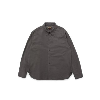 빅유니온(bigunion) Heavy Linen Regular Shirt / Charcoal