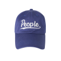 오디너리피플(ORDINARY PEOPLE) people logo purple ball cap