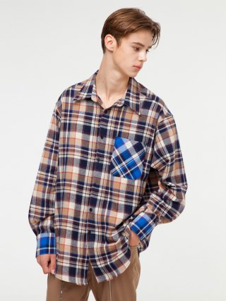 그레이티스트(thegreatest) GT18FW02 CHECK SHIRT