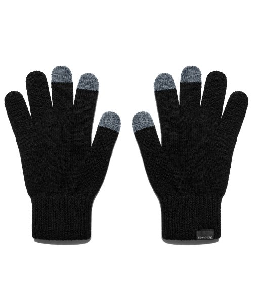 비바스튜디오(VIVASTUDIO) ORIGINAL LOGO GLOVES HA [BLACK]