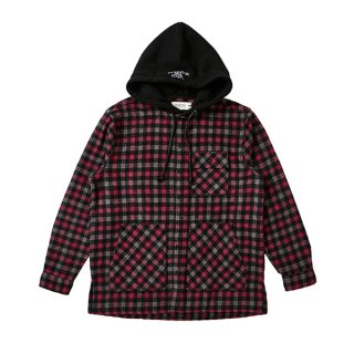 셀렉온(celecon) HOOD DETAIL CHECK SHIRTS PINK VG3SH917