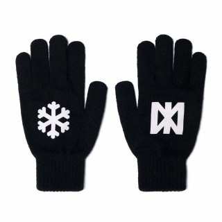 네스티팜(nastypalm) [NP] SNOW FLOWER GLOVES BLACK (NP18A109H)