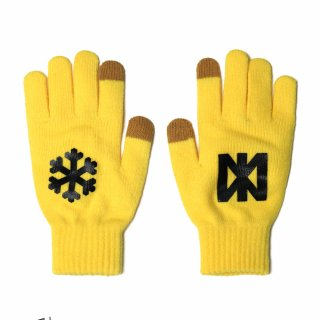 네스티팜(nastypalm) [NP] SNOW FLOWER GLOVES YELLOW (NP18A109H)