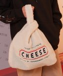 Cheese Fleece Eco-bag (Cream)