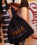 Cheese Fleece Eco-bag (Navy)