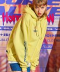 베리드얼라이브(BURIED ALIVE) BA RADIO PIC HOODIE YELLOW