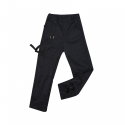 바이브레이트(VIBRATE) V8 - BACKSIDE SYMBOL LOGO PANTS (BLACK)