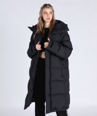스텔라비(stellabe) WOMENs KIMBERLEY RDS DUCKDOWN PARKA (BLACK)