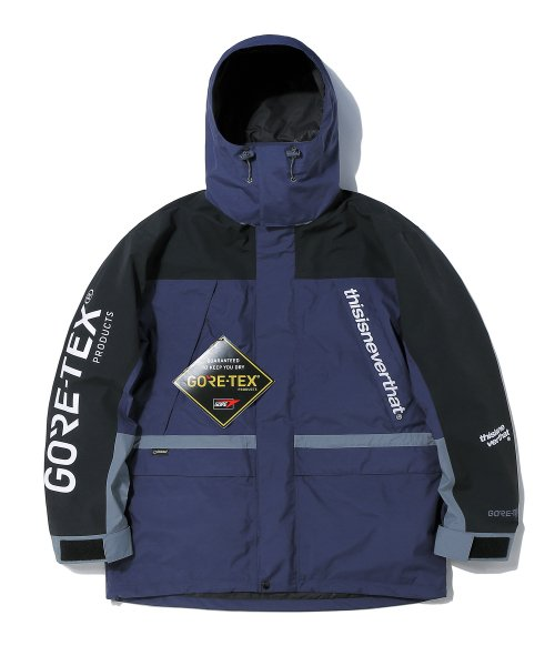 디스이즈네버댓(THISISNEVERTHAT) thisisneverthat x GORE-TEX City Peak Jacket Navy