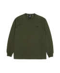 필드매뉴얼() ELBOW BOX LOGO LONG SLEEVE TEE khaki