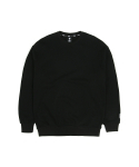 필드매뉴얼(FIELDMANUAL) WAPPEN SWEATSHIRT black
