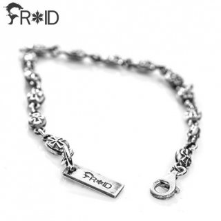 프루와(froid) Creed Bracelet [925 Sterling Silver]