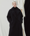밀로그램(MILLOGREM) Snuggle Teddy Coat - Black
