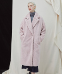 밀로그램() Snuggle Teddy Coat - Pink
