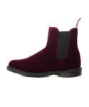 닥터마틴() Flora (Chelsea Boot)/Cherry Red velvet