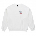 폴라() Two Sided Crewneck - White