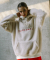 써치410(SEARCH410) UNISEX BOA SIGNATURE ANORAK HOODIE_WHITE