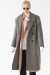 (유니섹스)RAW CUT PURE WOOL COAT (GRAY)