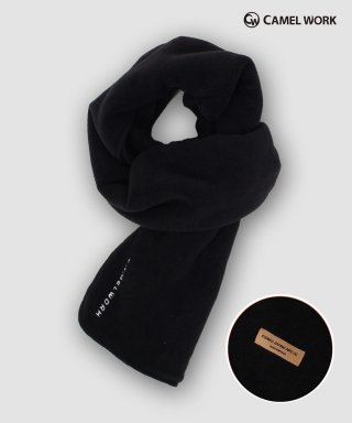 카멜워크(camelwork) Reversible Fleece Muffler(Black)