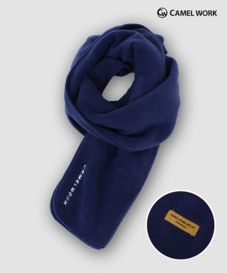카멜워크(camelwork) Reversible Fleece Muffler(Navy)