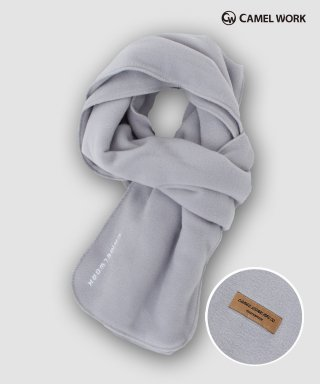 카멜워크(camelwork) Reversible Fleece Muffler(Gray)