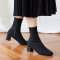 (SY)_Monday sock boots_Black (W)