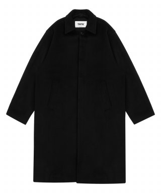트라이투톡(trytotlak) T38F WOOL MAC COAT (BLACK)