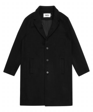 트라이투톡(trytotlak) T38F WOOL SINGLE COAT (BLACK)