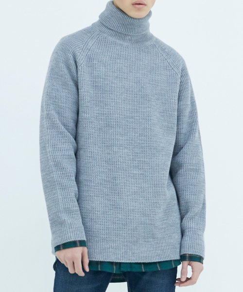 쟈니웨스트(JHONNY WEST) Critical Long Turtleneck (Gray)