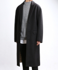 쟈니웨스트(JHONNY WEST) Cashwool Semfit Coat (Black)
