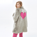몰리올리(MOLLIOLLI) CATHERINE heart short jacket