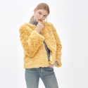 몰리올리(MOLLIOLLI) LIZ cocktail jacket yellow