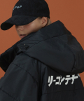 리플레이컨테이너(REPLAY CONTAINER) RECONTAINER basic long padding (black)