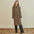 언에디트(ANEDIT) R CHECK DOUBLE COAT_BR
