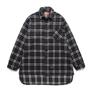 메가팩(megapack) Flannel check shirt_gray