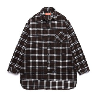메가팩(megapack) Flannel check shirt_brown