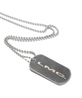 엘엠씨(lmc) PRESS LOGO DOG TAG REMADE BY LMC silver
