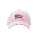 Adult`s Hats Flag on Light Pink