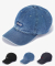 Denim Ball Cap - Blue/Navy/Black