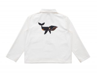 아노니모아노니마(anonimoa) BALENA Heavyweight Cotton Work Shirt - Offwhite