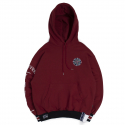 10th Forever Young Hoodie_Burgundy