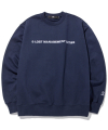 엘엠씨(lmc) LMC CAPITAL LOGO SWEATSHIRT navy