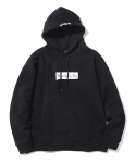 마크 곤잘레스() M/G PAINTED BOX LOGO HOODIE BLACK
