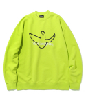 마크 곤잘레스() ANGEL LOGO CREWNECK NEON