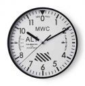 엠더블유씨(MWC) Altimeter Wall Clock - White