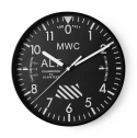 엠더블유씨(MWC) Altimeter Wall Clock - Black