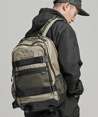 몬스터리퍼블릭(monsterrepublic) MOVEMENT CORDURA BACKPACK / BEIGE